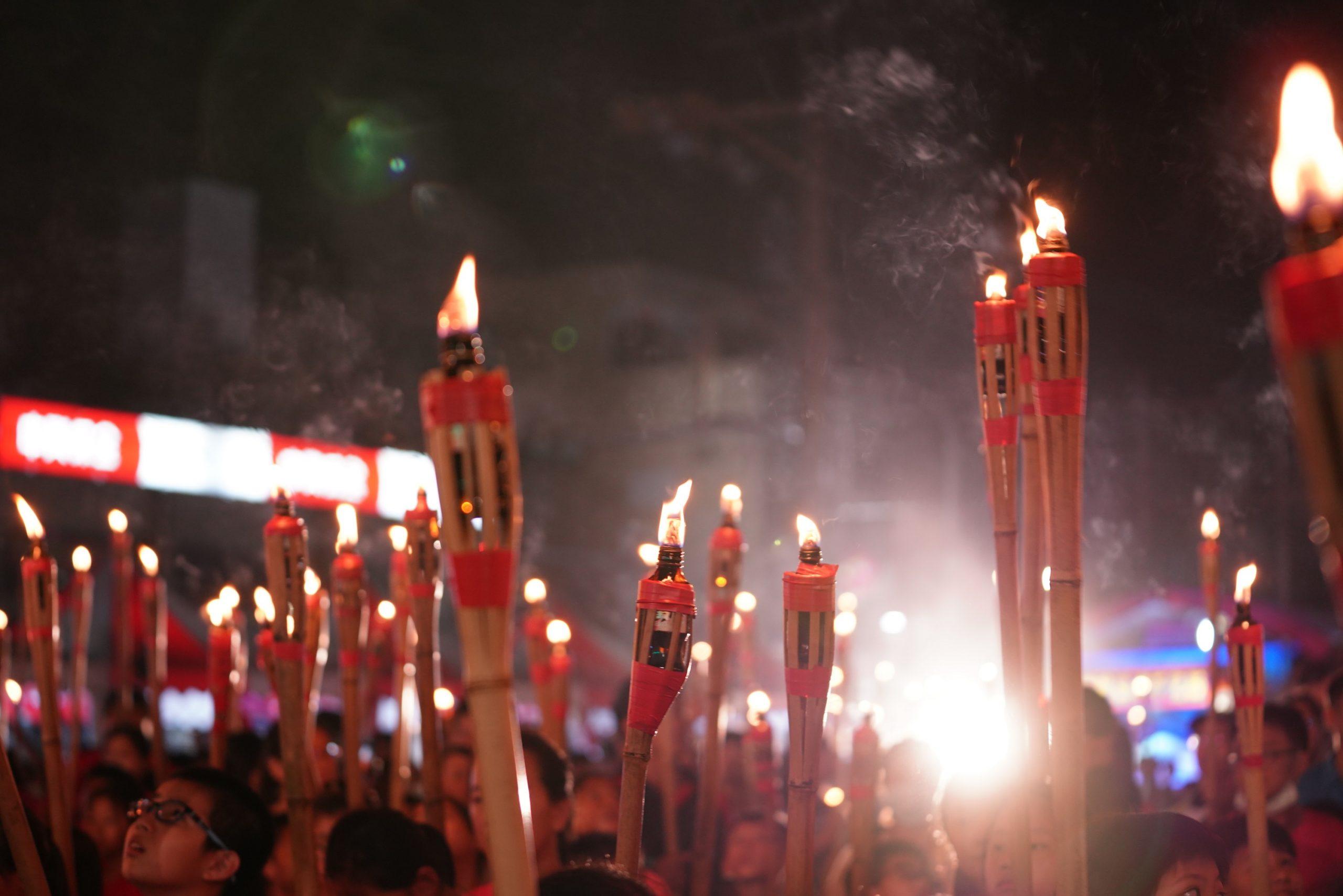 雲林‧詔安客家文化節盛大開幕  三千人舉澹仔火 照亮秋分夜空