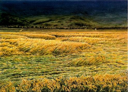 台灣米勒畫家張秋台  水彩畫展-撼動人心的美好