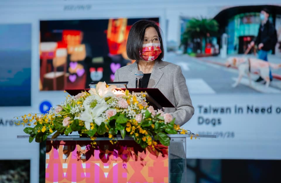 Read more about the article 臺灣文化協會一百年紀念會 蔡總統期「一起為世界的臺灣努力!」